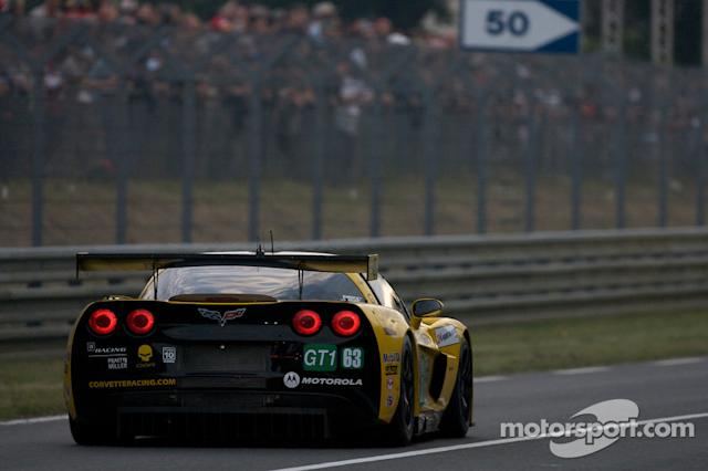 "2010: #63 Corvette Racing Corvette C6.R: Johnny O'Connell, Jan Magnussen, Antonio Garcia <span class=""copyright"">Eric Gilbert</span>"