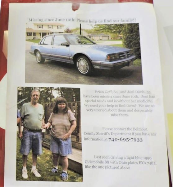 Little hope left for missing Ohio couple in year-old case