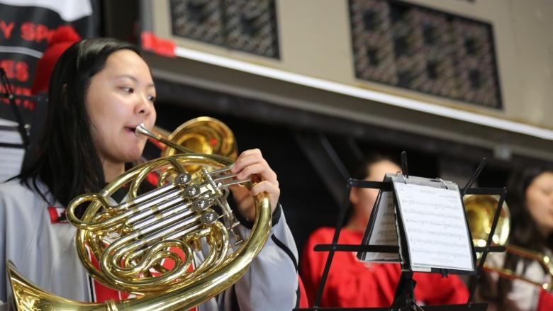 McGill's student band a hit with fans and teams alike at hockey nationals