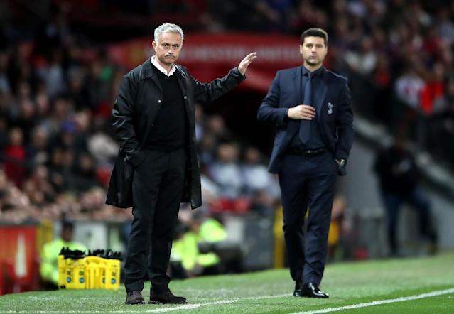 The Tottenham manager will put his wits against Manchester United's interim boss on Sunday.
