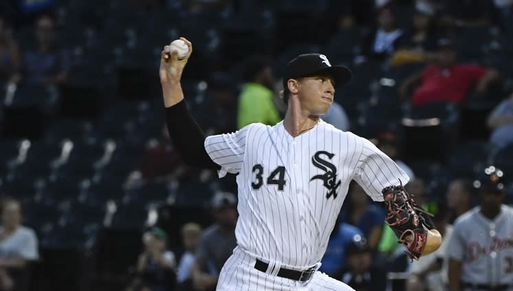 White Sox pitching coach 'concerned' about ex-Red Sox prospect Michael Kopech