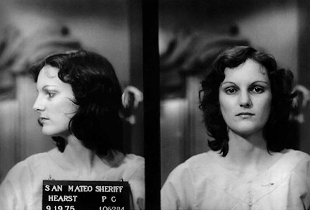 Patty Hearst mug shot. (Photo: Getty)
