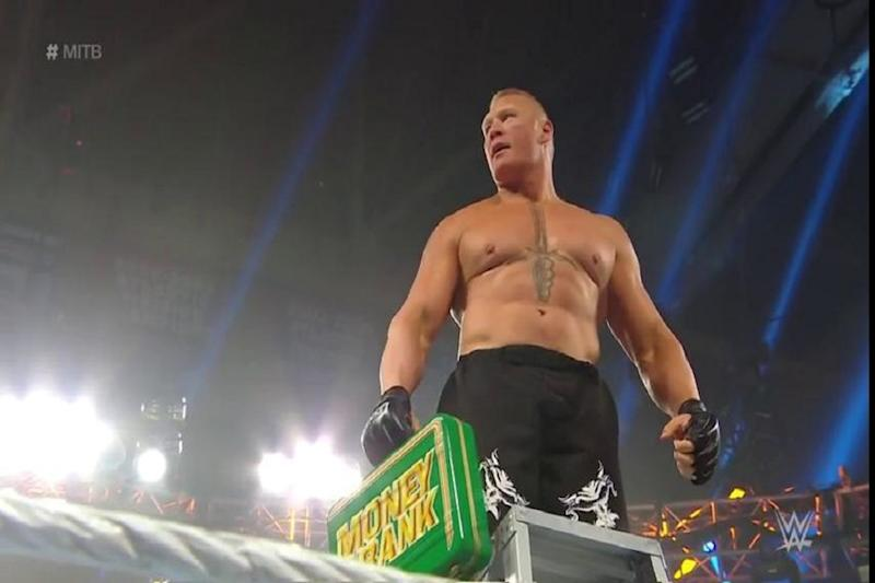 WWE Money in the Bank 2019: Brock Lesnar Makes Shocking Return, Bayley Gets Surprise Win and Other Results