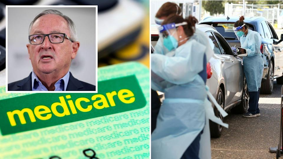 NSW Health Minister Brad Hazzard has debunked a concerning belief. Images: Getty