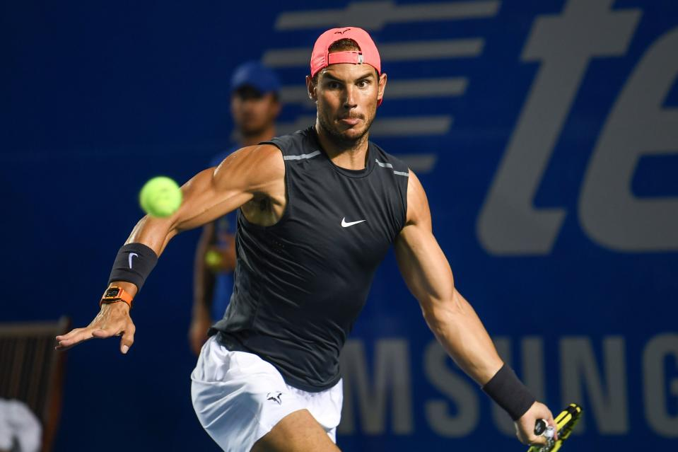 Rafael Nadal believes that this year's tennis season is a lost cause. (Pedro Pardo/AFP via Getty Images)