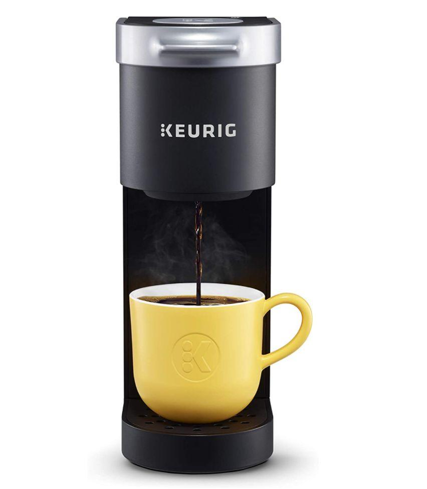 "Get the <a href=""https://amzn.to/3mj6kS2"" target=""_blank"" rel=""noopener noreferrer"">Keurig K-Mini Coffee Maker on sale for $60 </a>(normally $80) on Amazon."