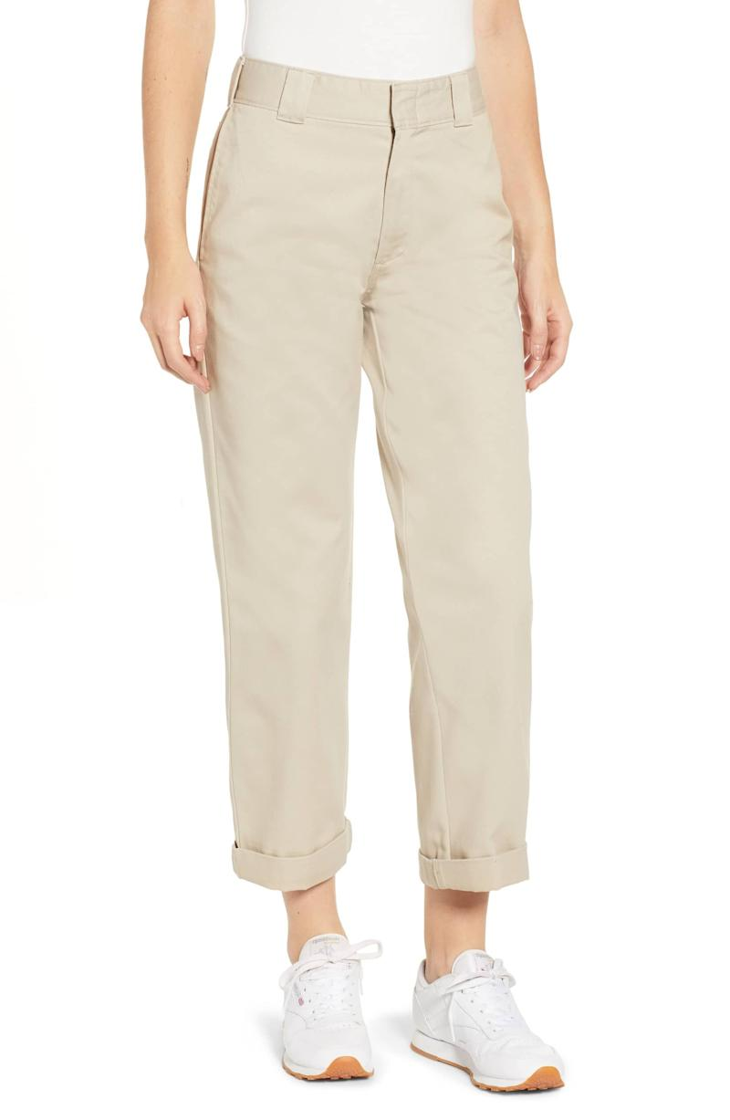 34bd3063 Dickies Belted Relaxed Fit Carpenter Pants ($65). Dickies Crop Work Pants  ($69)