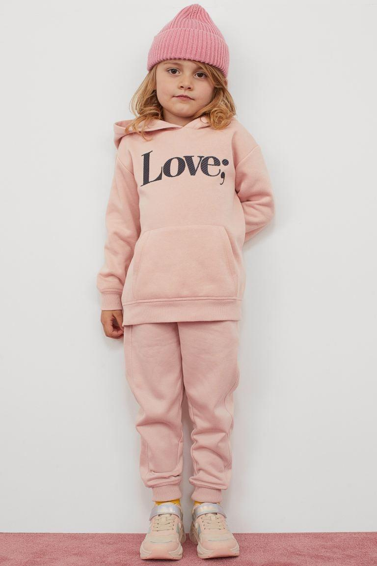 <p>These <span>H&M Joggers</span> ($15), <span>Embroidered-detail Hoodie</span> ($15), and <span>Ribbed Hat</span> ($7) make for the cutest little outfit.</p>