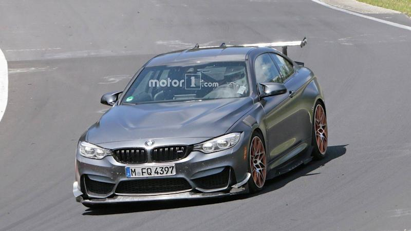2019 BMW M4 GTS spy photo