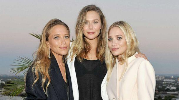 PHOTO: Designer Mary-Kate Olsen, actress Elizabeth Olsen and designer Ashley Olsen attend Elizabeth and James Flagship Store Opening Celebration with InStyle at Chateau Marmont on July 26, 2016, in Los Angeles. (Donato Sardella/Getty Images for InStyle, FILE)