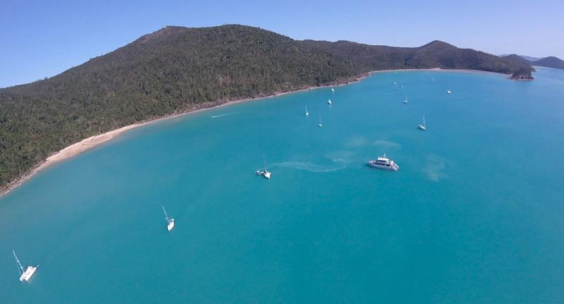 Man dies in 3rd shark attack off Australia's Whitsundays Islands
