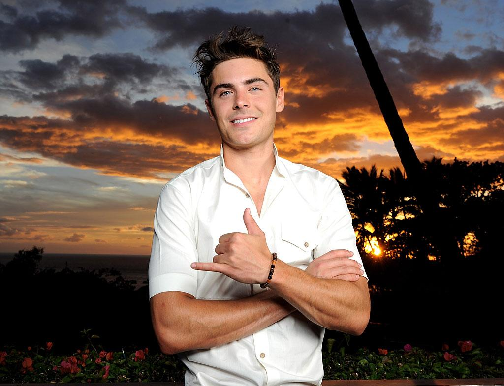 """Actor Zac Efron picked up the Shining Star Award at the 2010 Maui Film Festival in Wailea, Hawaii, this week. He was also proclaimed """"Hottest Body of 2010"""" by <i>People</i> magazine. Michael Buckner/<a href=""""http://www.gettyimages.com/"""" target=""""new"""">GettyImages.com</a> - June 16, 2010"""