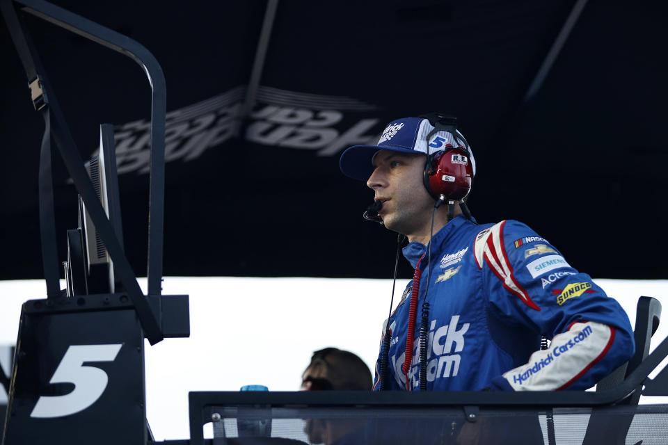 FORT WORTH, TEXAS - JUNE 13: Crew chief Cliff Daniels looks on during during the NASCAR All-Star Race at Texas Motor Speedway on June 13, 2021 in Fort Worth, Texas. (Photo by Chris Graythen/Getty Images) | Getty Images