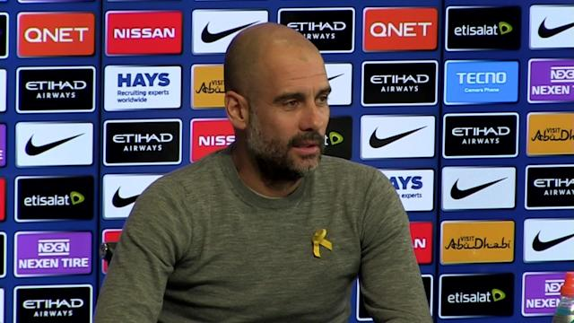 Manchester City manager Pep Guardiola pre-match press conference v Stoke - Talking about potential fixture schedule