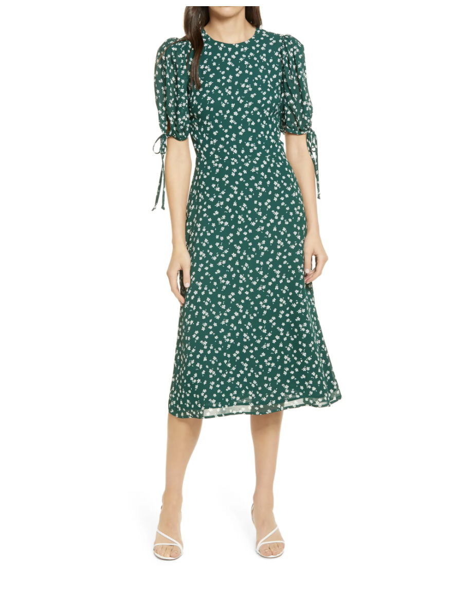Reformation Oakley Floral Print Midi Dress - Nordstrom, $119 (originally $198)