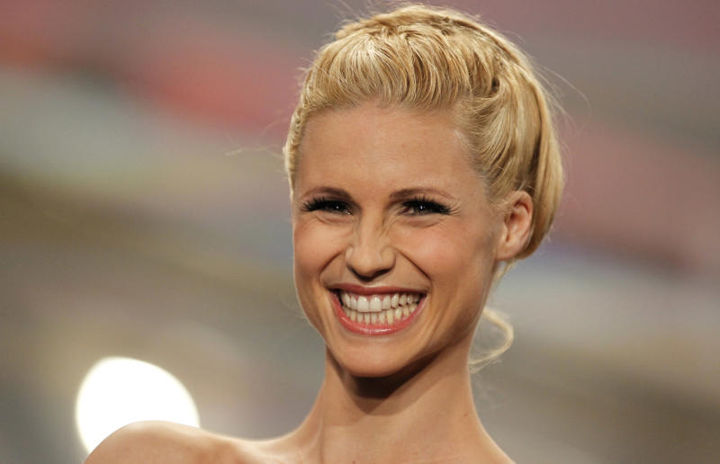 Michelle Hunziker (apn Photo/Johannes Eisele, Pool)