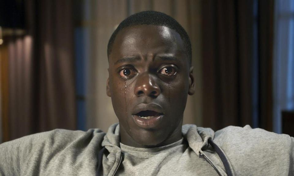 Kaluuya in his breakout role in 2017's horror-thriller Get Out