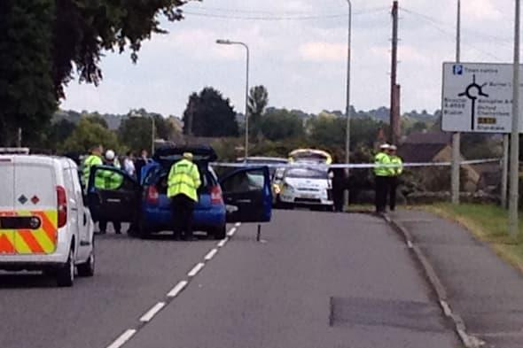 A 14-year-old girl was killed and three other pedestrians were injured following a collision in Oxfordshire
