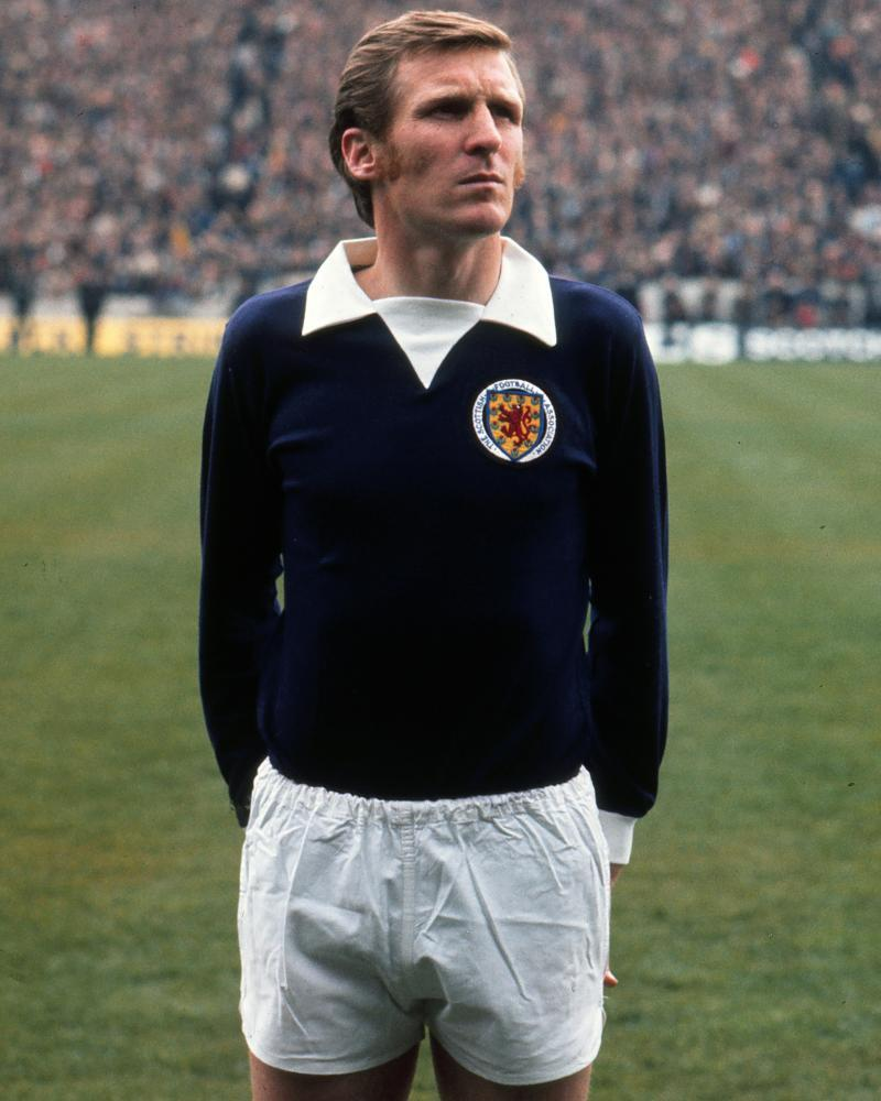 Billy McNeill won 29 caps for Scotland but played 822 games for Celtic.