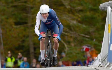 Cycling - UCI Road World Championships - Men Elite Individual Time Trial - Bergen, Norway - September 20, 2017 - Chris Froome of Britain competes. NTB Scanpix/Marit Hommedal via REUTERS