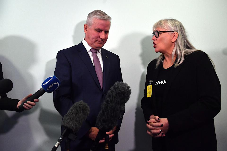 Deputy Prime Minister Michael McCormack had earlier said he was