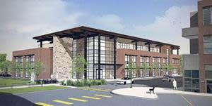 Rendering of the Medical Office Building in Basalt.