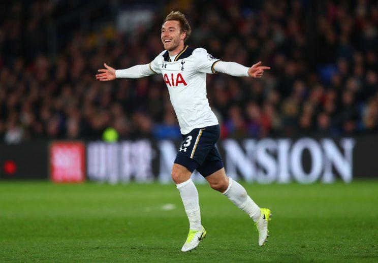 Christian Eriksen's goal wins Tottenham a tight game against Crystal Palace