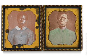 Drana and Jack.   Learn more about this art: https://www.educationnext.org/teaching-about-slavery-forum-guelzo-berry-blight-rowe-stang-allen-maranto/#art