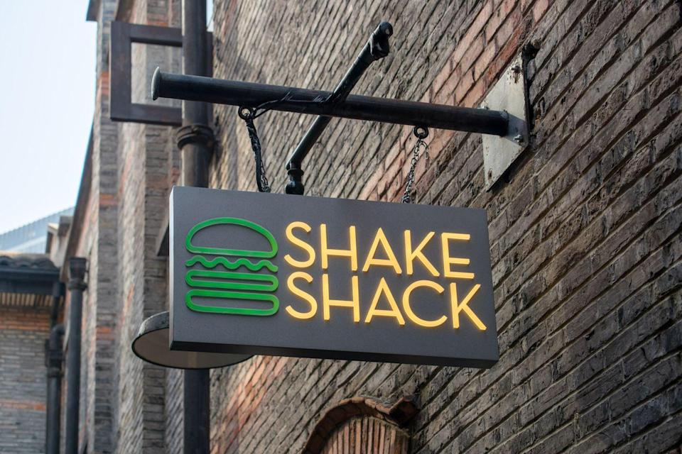 <p>Sure, their potato buns are nice, but you can do without them. Ask for your burger with a lettuce wrap instead, or consider the SmokeShack, which is layered in cheese and bacon.</p>