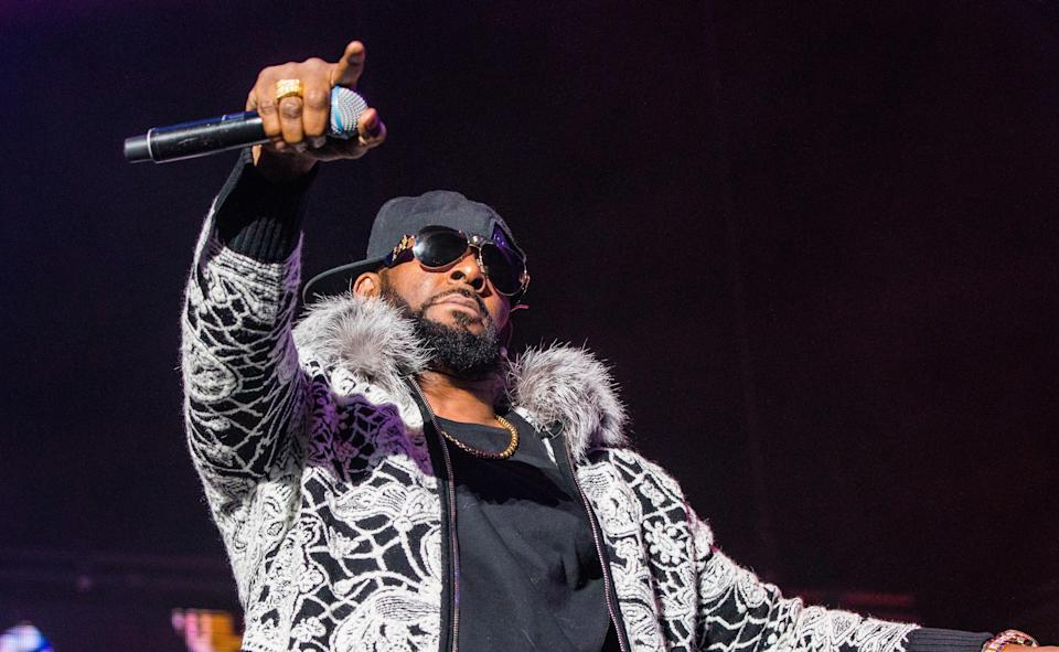 The singer has been accused of sexual activity with under-aged girls. (Getty)