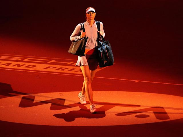 The Russian gave a focused performance both on court and in her post-match press conference: Getty
