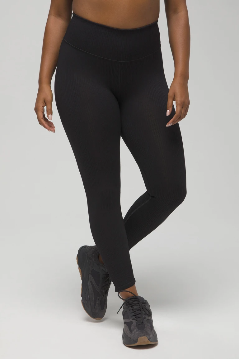 """<h3>Good American: The Versatile Ribbed Legging</h3><br>When it comes to investment leggings versatility is key, and this textured woven option is chic enough to lounge in and supportive enough to work out in.<br><br><strong>The hype:</strong> 4.3 out of 5 stars, 12 reviews on GoodAmerican.com<br><br><strong>What they're saying:</strong> """"I have only bought one brand of leggings my entire life and never thought I'd branch out. But I tried these ribbed ones and I'm hooked , already bought a second pair! The band doesn't slide, they hug you in the perfect places, and they are amazing for lounging or intense workouts. Definitely going to purchase in other colors!"""" — Juliana B., GoodAmerican.com reviewer<br><br><strong>Good American</strong> Active Essential Ribbed Legging, $, available at <a href=""""https://go.skimresources.com/?id=30283X879131&url=https%3A%2F%2Fwww.goodamerican.com%2Fproducts%2Fseamless-ribbed-legging-black001"""" rel=""""nofollow noopener"""" target=""""_blank"""" data-ylk=""""slk:Good American"""" class=""""link rapid-noclick-resp"""">Good American</a>"""