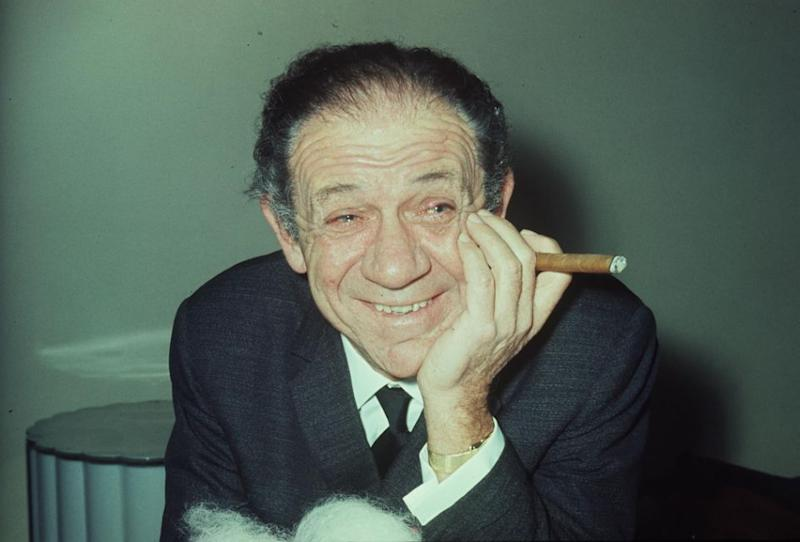 Actor Sid James tragically passed away in the theatre in 1976. Photo: Getty