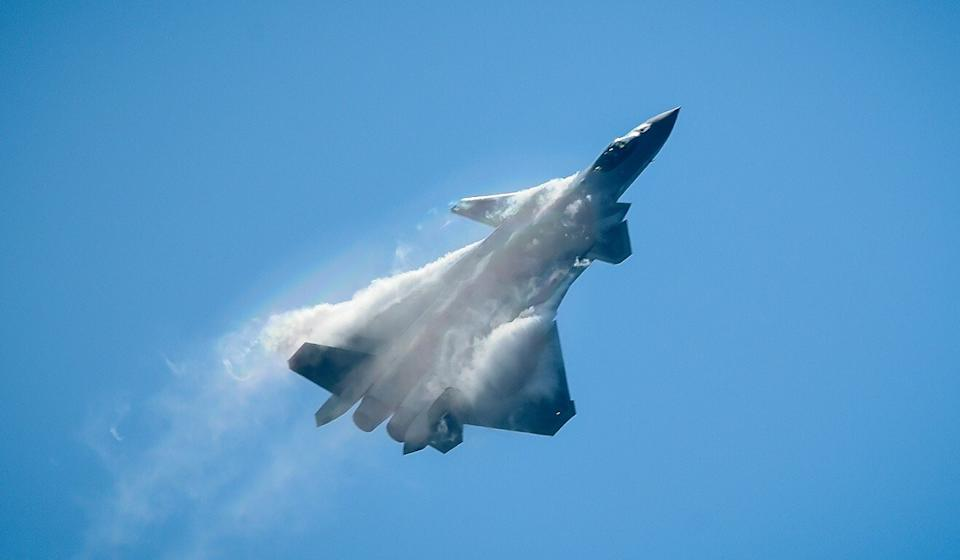 China is only the second country in the world to have developed a fifth-generation stealth fighter, the J-20. Photo: AFP
