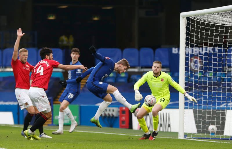 FA Cup - Third Round - Chelsea v Morecambe