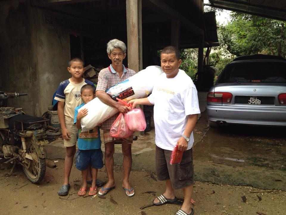 Mattresses, food and necessities were some of the items distributed to flood victims in Kelantan. — Picture courtesy of Ops Harapan