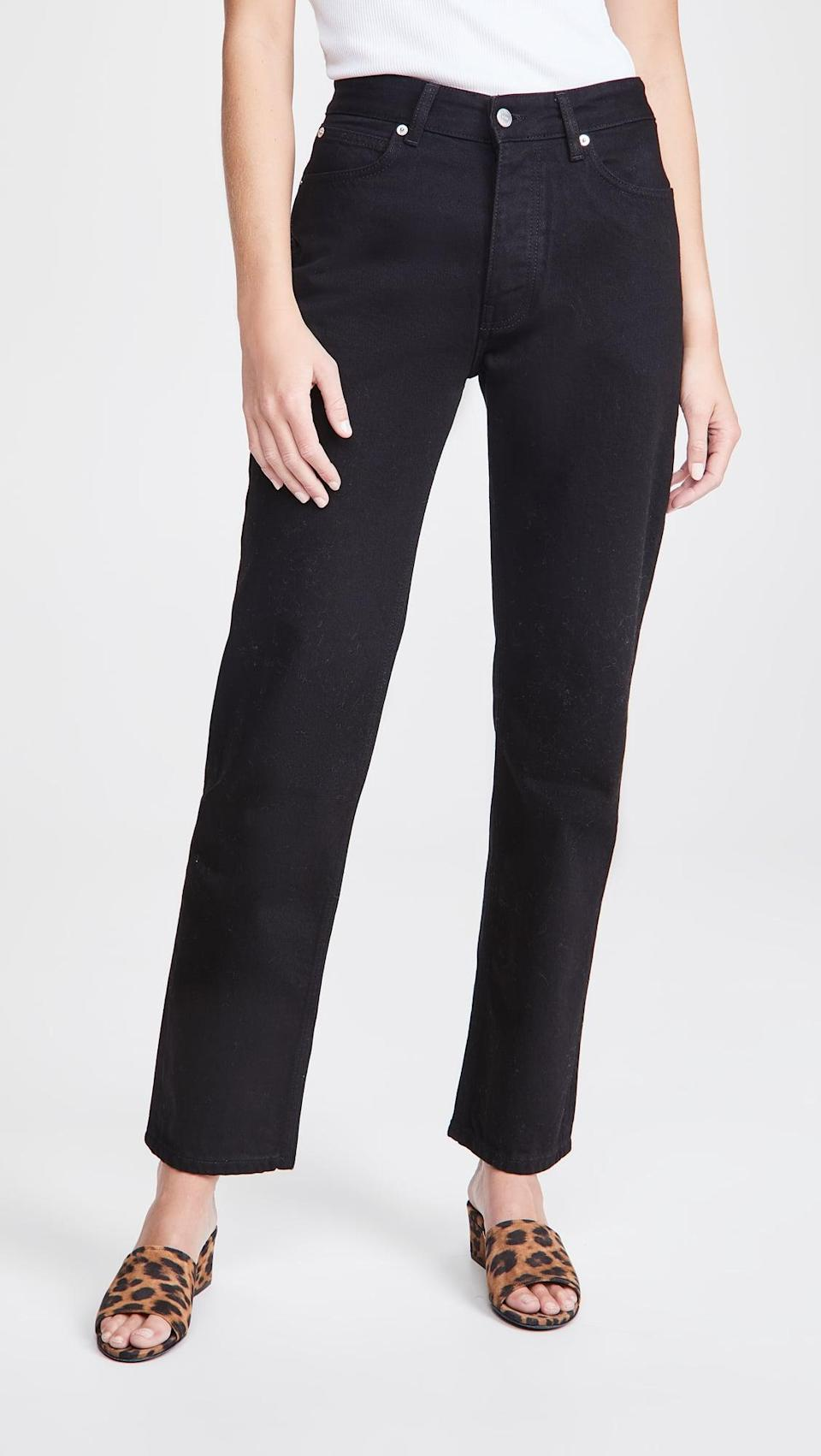 <p>These <span>Victoria Victoria Beckham Arizona Jeans</span> ($159, originally $265) are so chic, and a timeless silhouette.</p>