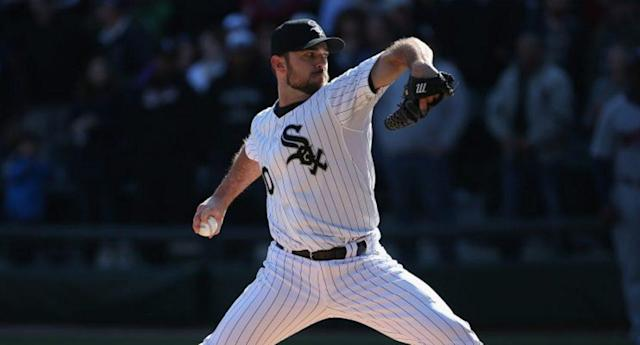 David Robertson is an intriguing name for the Blue Jays, but the fit is tricky. (Getty Images)