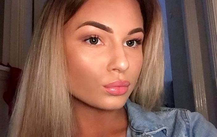 Leonie Baigan.  A mum paid tribute to her glamorous daughter who took her own life after struggling with mental health during the pandemic.  See SWNS story SWSCdeath.  Leonie Baigan, 20, took her own life last month, two days before a gender reveal party  to celebrate her mum's pregnancy, and was buzzing to become a big sister.  Mum-of-one Stacey Baigan, 40, said Leonie had sought help for mental health and had been signed off work from her job at a bank, but the family had no idea she was suicidal.  Leonie, from Edinburgh, had spoken to her GP about her mental health but had not indicated she was thinking of taking her own life, which she did on March 4.  She was laid to rest yesterday (April 14).  Stacey, who is six months pregnant, said mental health had become another pandemic in the course of lockdowns, and many young people were feeling isolated.