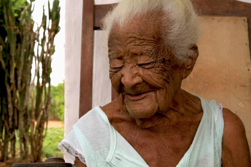 Juana Bautista de la Candelaria Rodriquez of Cuba claims to be 126 years old, but age experts believe her age is closer to 96.
