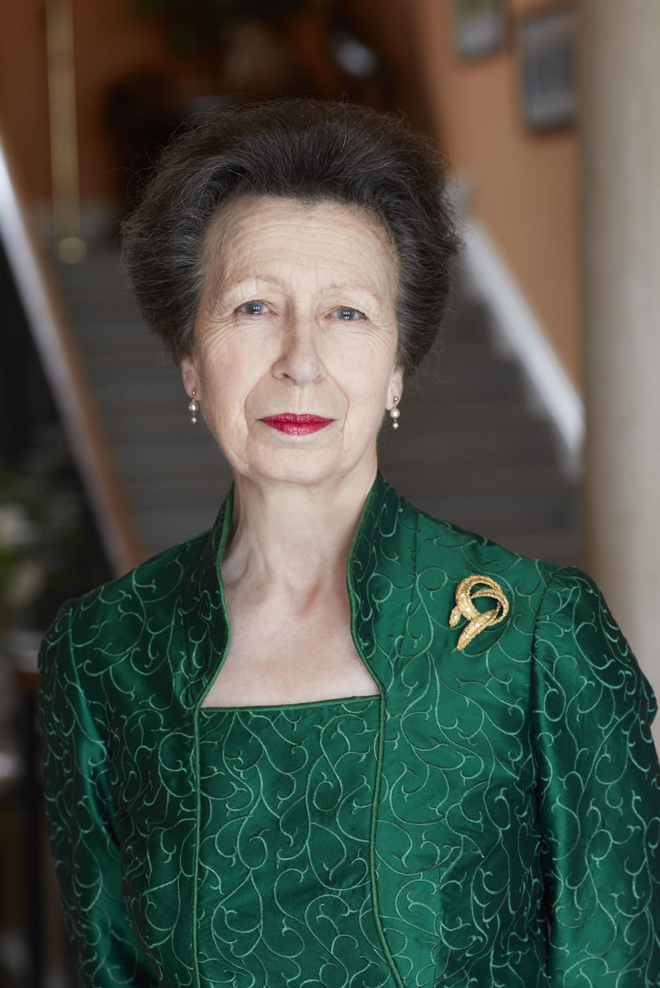 Embargoed to 2200 BST Friday August 14, 2020. Not for use after Friday September 4, 2020, without prior approval from Royal Communications and Camera Press. Mandatory credit: John Swannell / Camera Press One of three official photographs taken by John Swannell of The Princess Royal which have been released to celebrate her 70th birthday on Saturday.