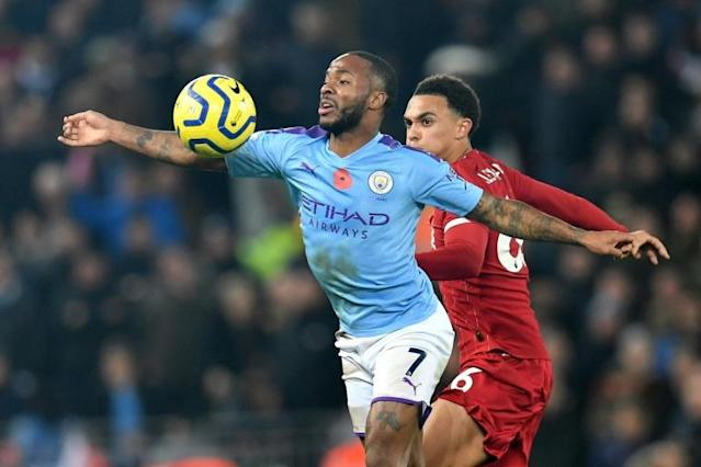 Gareth Southgate said Raheem Sterling had been dropped for Thursday's game with Montenegro after his altercation with Joe Gomez (AFP Photo/Paul ELLIS)