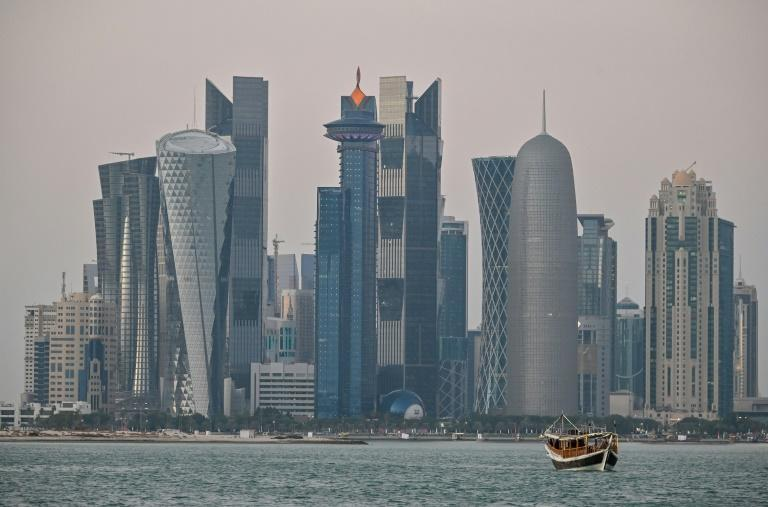 Doha, the capital of Qatar, which hosts next year's World Cup (AFP/GIUSEPPE CACACE)