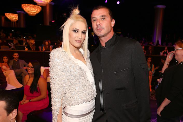 Recording artists Gwen Stefani and Gavin Rossdale attend the People magazine awards ceremony on Dec. 18, 2014, in Beverly Hills, California. Eight months later they announced their split after 13 years of marriage. (Photo: Chris Polk/PMA2014 via Getty Images)