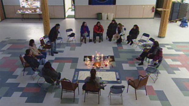 Organizers of the Yukon Idle No More movement have opted for peaceful protests instead of highway and railway blockades. The group has been holding a prayer circle at the Kwanlin Dun Cultural Centre since Wednesday.