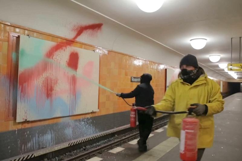 "Berlin: ""Toy Crew"" - Bekenner-Video von Graffiti-Attacke aufgetaucht"