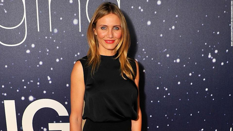 """<p>As a new mom, Cameron Diaz says she was staying home a great deal even before it was required. </p><div class=""""cnn--image__credit""""><em><small>Credit: Steve Jennings/Getty Images for Breakthrough Prize / Getty Images</small></em></div>"""