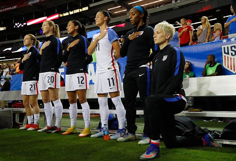 U.S. Soccer Says Players Must Stand During National Anthem