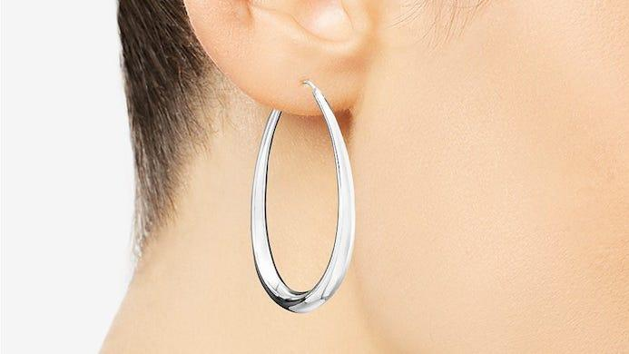 These oversized hoops are at a huge discount.