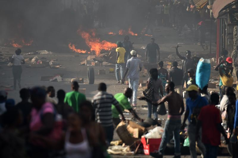 Airlines cancel flights to Haiti amid violent protests over gas prices